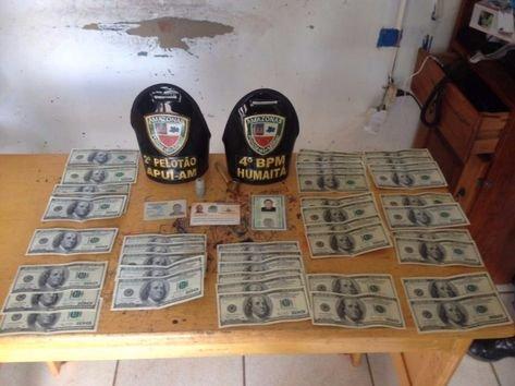 Colombianos são presos com dólares falsos no interior do AM