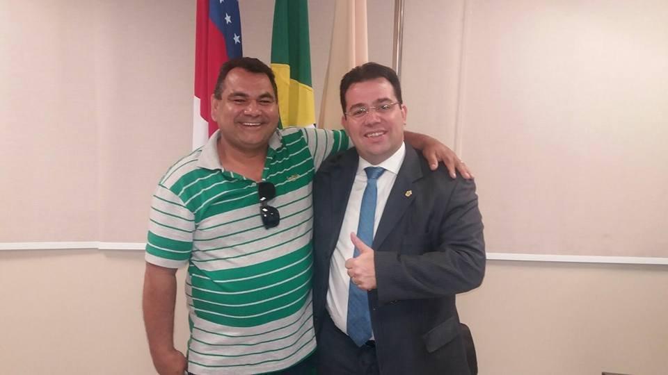 De presidente pra presidente: Vereador Aubercar assume presidência do Partido Humanista da Solidariedade (PHS) em Eirunepé