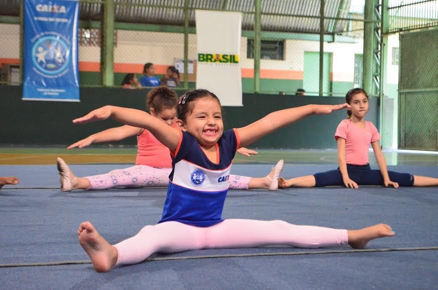 Oportunidade para mais de 100 ginastas no Centro de Excelência CAIXA