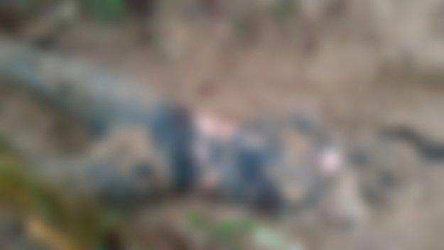 IMAGENS FORTES: Corpo de adolescente é encontrado em decomposição e com pescoço degolado no interior do AM