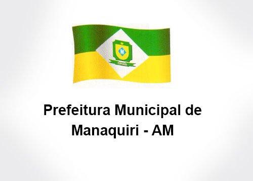 Processo seletivo da Prefeitura de Manaquiri AM 2017