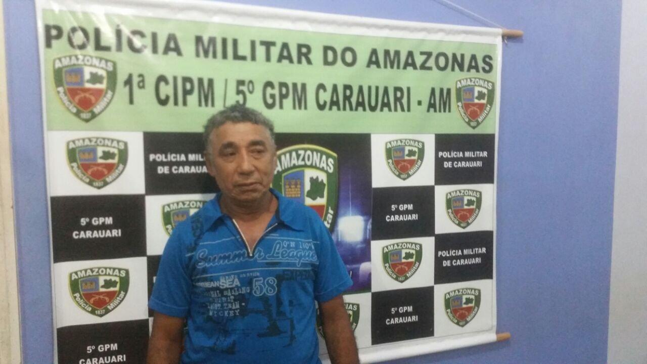 Homem é preso após disparar contra assaltante no município de Carauari
