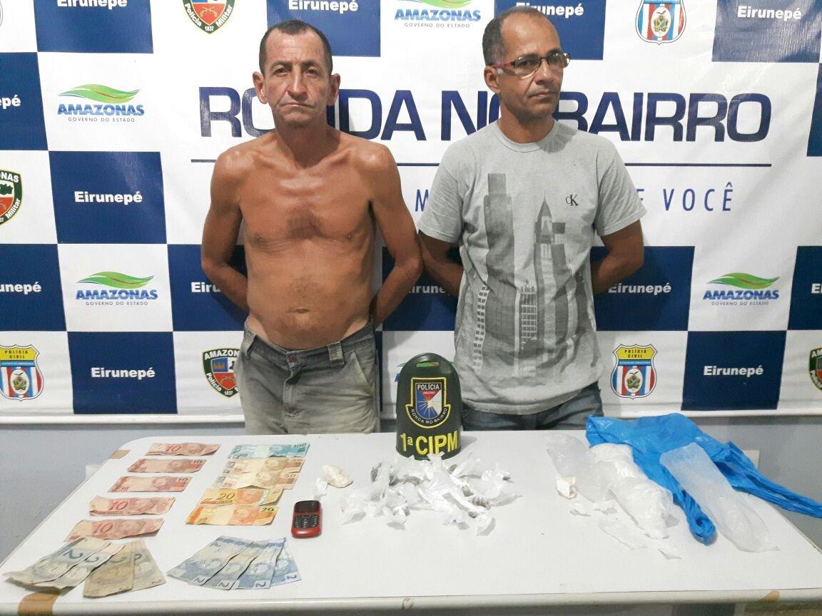 Irmãos são presos por tráfico de drogas no interior do AM