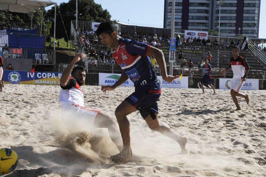 Praia da Ponta Negra é palco da 1ª Copa Beach Soccer Masculino