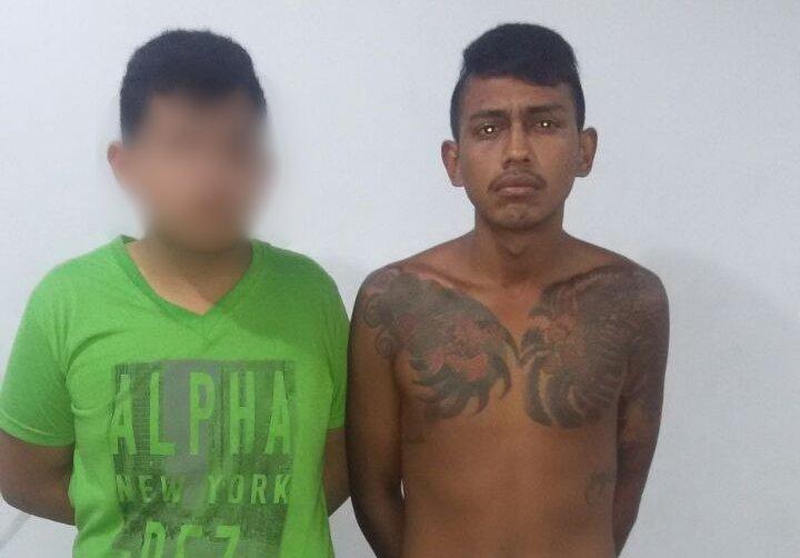"""Homens são presos com """"Combos Noia"""" e armados no São José"""