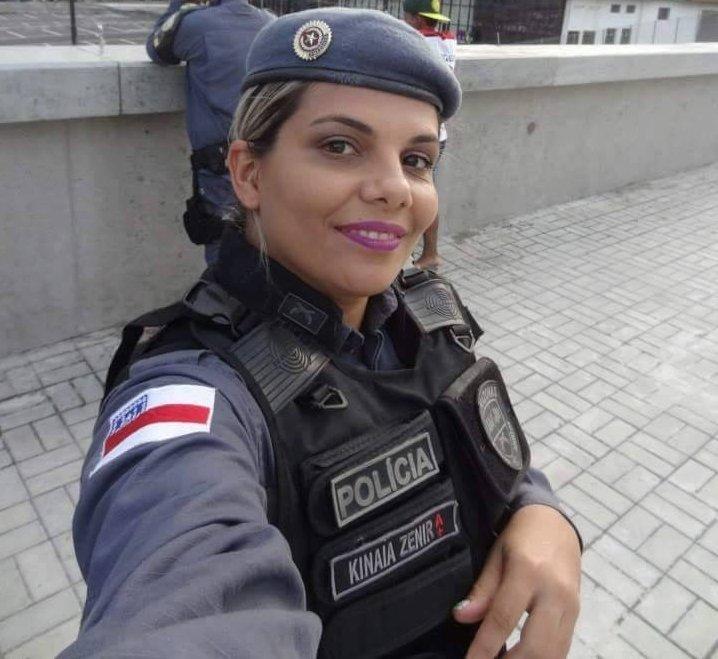 """""""Policial, mulher e mãe"""" A soldado Kinaia Zenir, a força feminina Policial"""