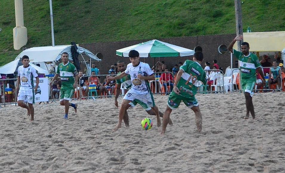 Estrela do Norte e Guerreiros vão decidir a Copa Manaus de Beach Soccer 2016