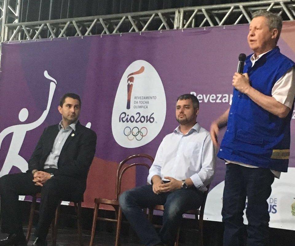 Workshop valida operação para revezamento da tocha olímpica em Manaus