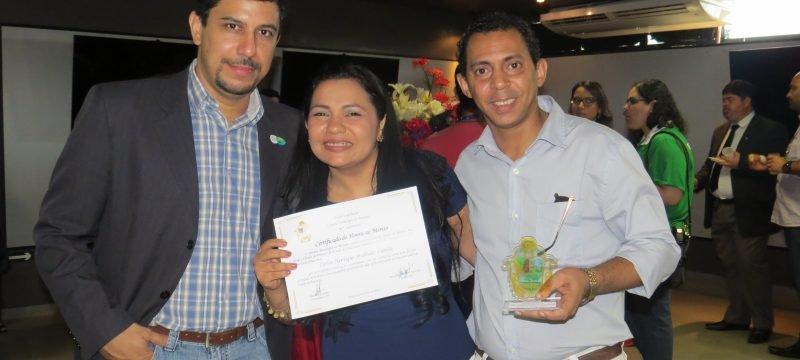 Dr. Marcelo Dias (Comitê Olimpico Manaus 2016), Ver. Pastora Luciana e Caíque Varella