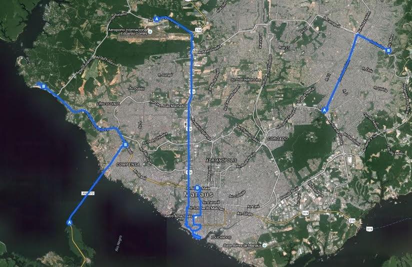População poderá ver a Tocha Olímpica neste domingo em todas as zonas de Manaus