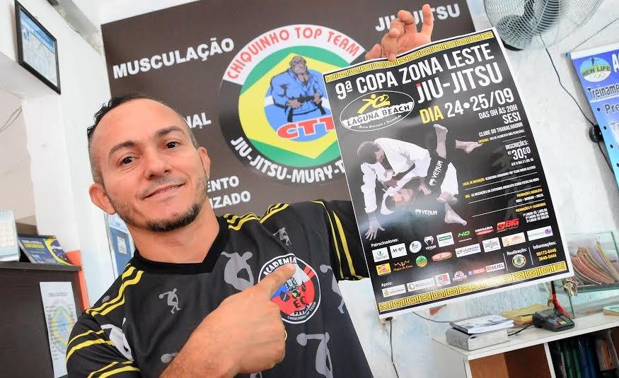 Inscrições abertas para 9ª Copa Zona Leste LAGUNA BEACH de Jiu-Jítsu, em Manaus