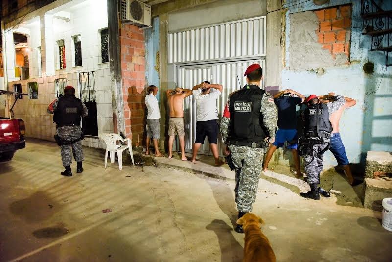 Cumprimento de mandados de prisão em Manaus reduzem crimes