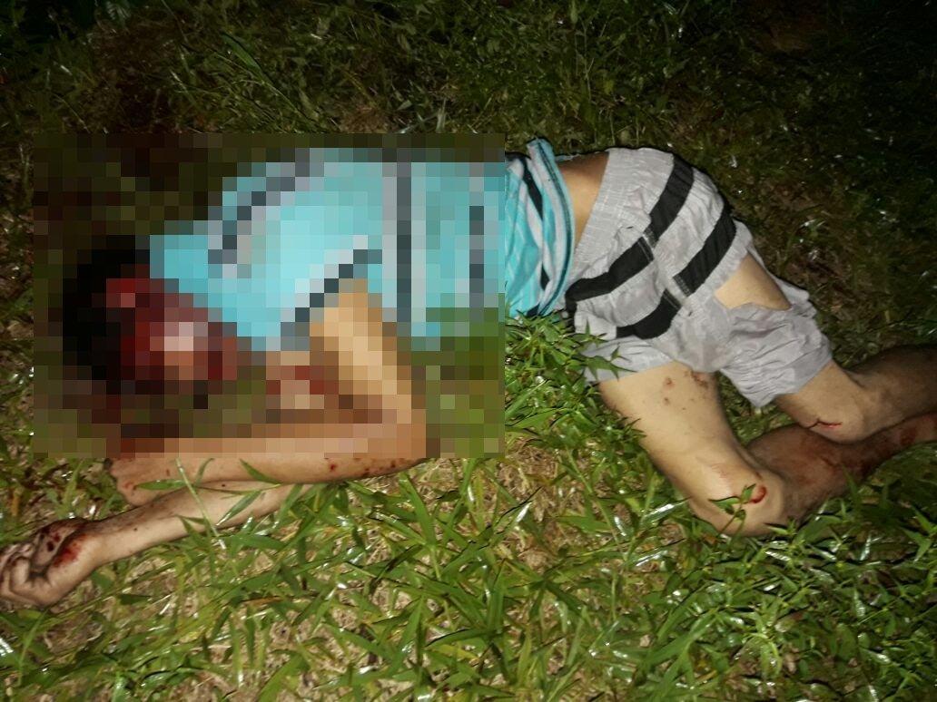 IMAGENS FORTES: Estuprador é morto a machadadas por irmão da vitima em Manaus