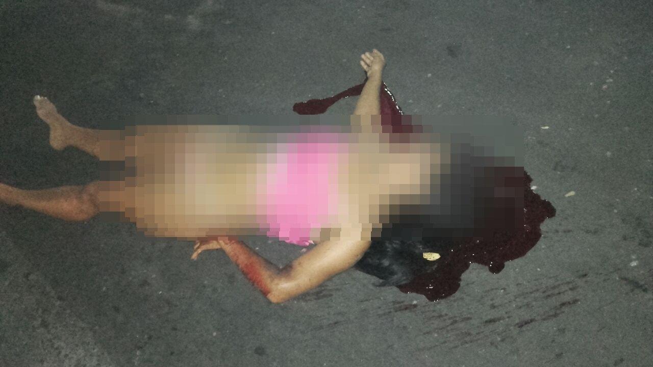 IMAGENS FORTES: Seminua mulher é retirada de casa e executada com tiro na cabeça em Manaus