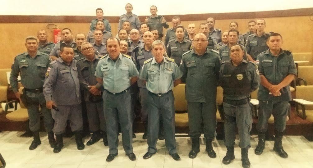 Comando da PM realiza visita de inspeção ao 3º CIPM em Rio Preto da Eva