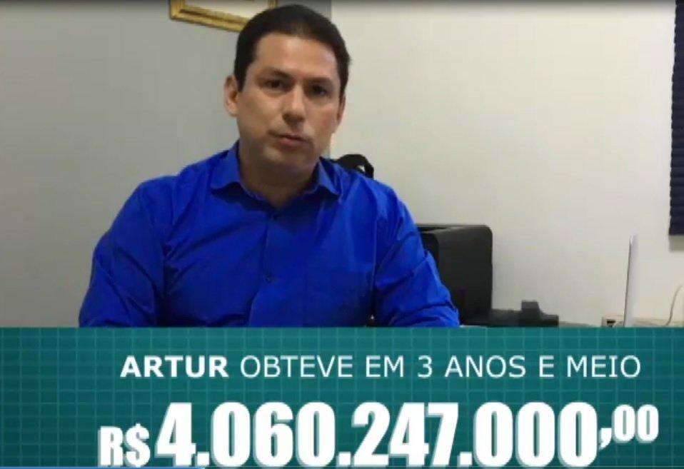 Marcelo Ramos prova que Artur teve R$ 4 bi a mais que o antecessor
