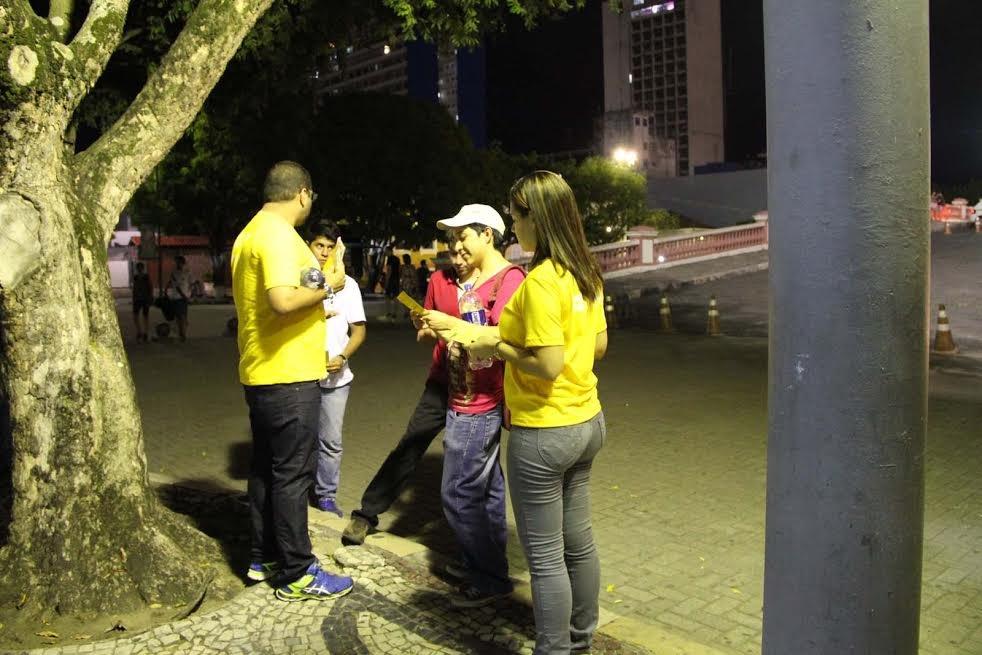 Campanha de prevenção ao suicídio abre com ações de conscientização sobre a valorização da vida, em Manaus