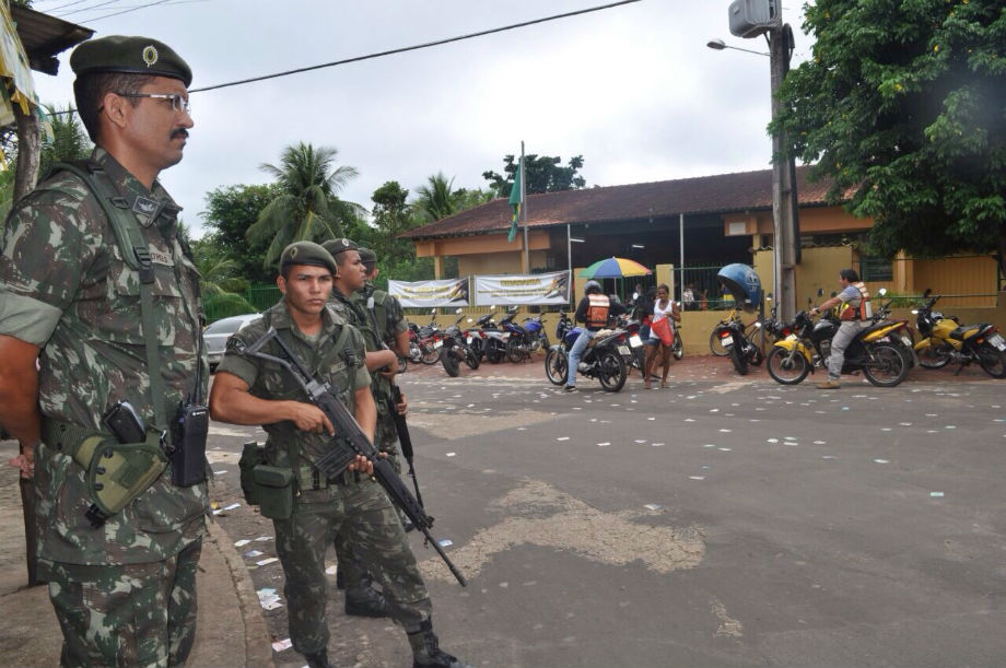 TRE-AM aprova o envio de Forças Federais para nove municípios para o reforço da segurança nas eleições