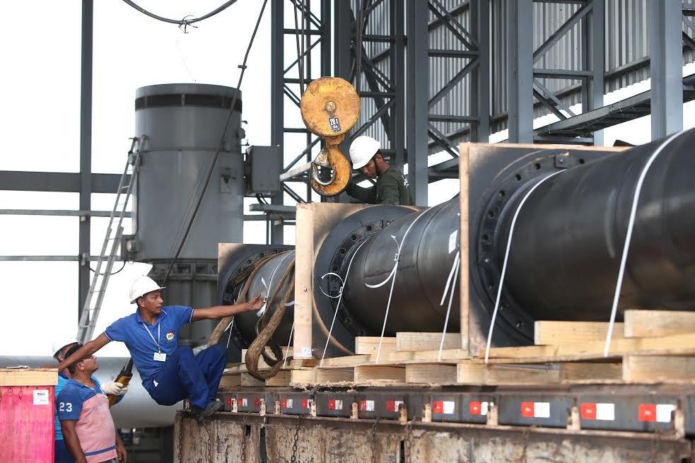 Proama recebe nova bomba de captação de água