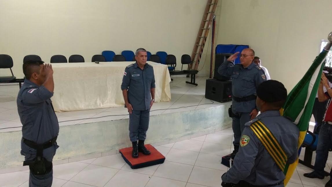 Alto Comando da Polícia Militar participa da passagem de comando da 8ª CIPM de Iranduba