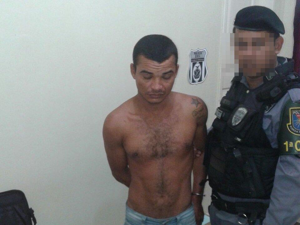 """""""Gato"""" é preso após fugir da delegacia e cometer vários roubos a comércios no AM"""