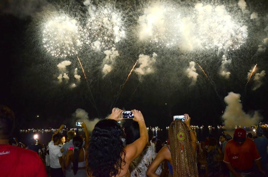 Virada de ano na Ponta Negra terá show piromusical