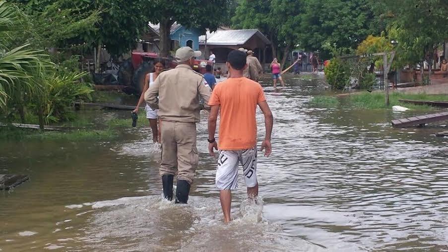 Defesa Civil emite alerta para enchente na região do rio Juruá, no Amazonas