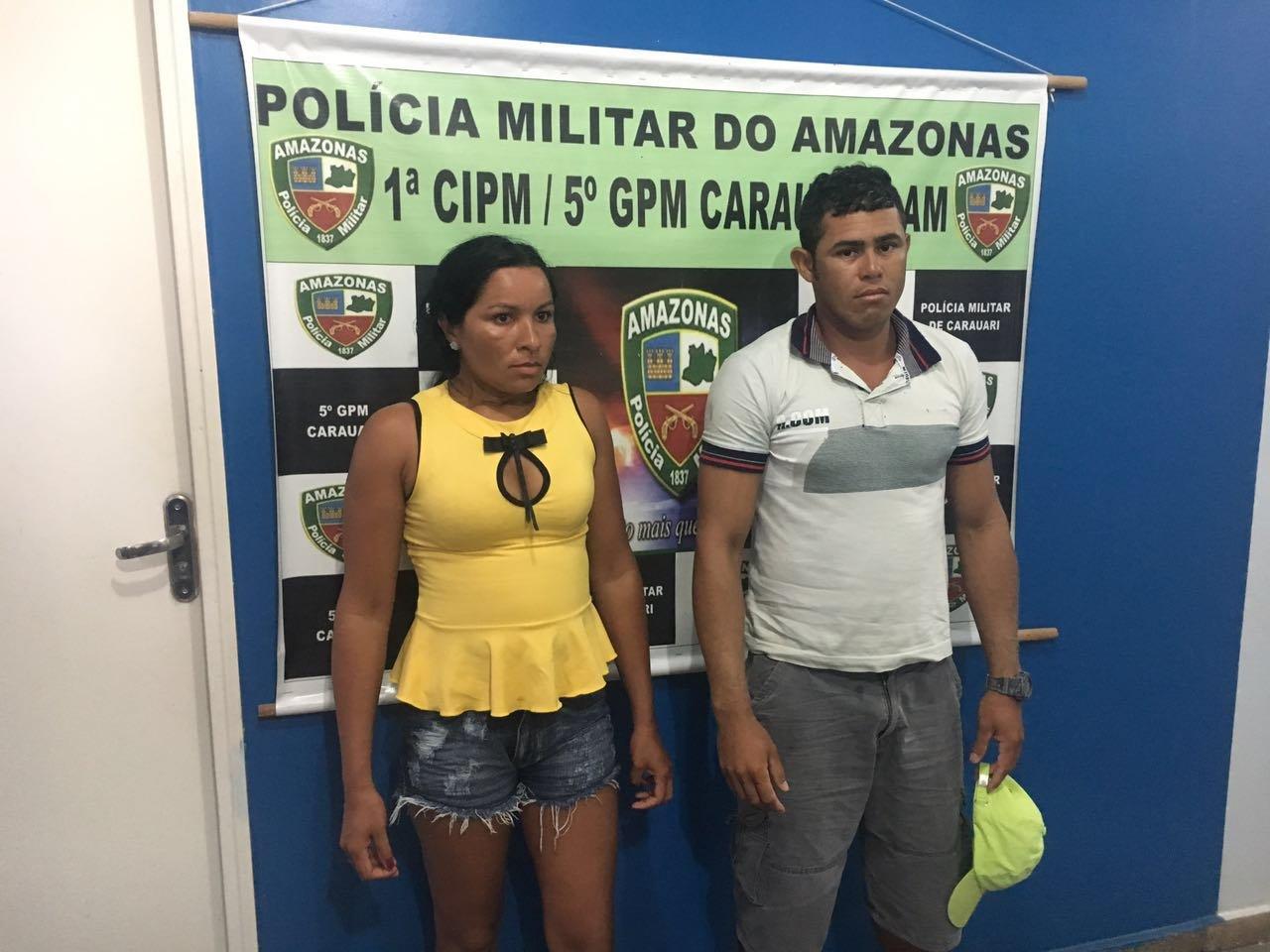 Casal é preso por trafico de drogas no interior do AM
