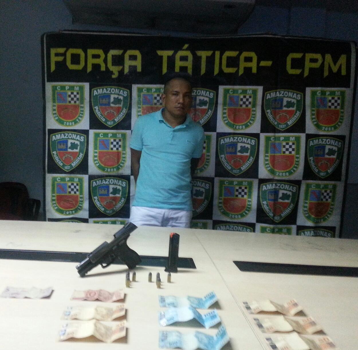 Foragido é preso com arma de uso restrito na Zona Leste