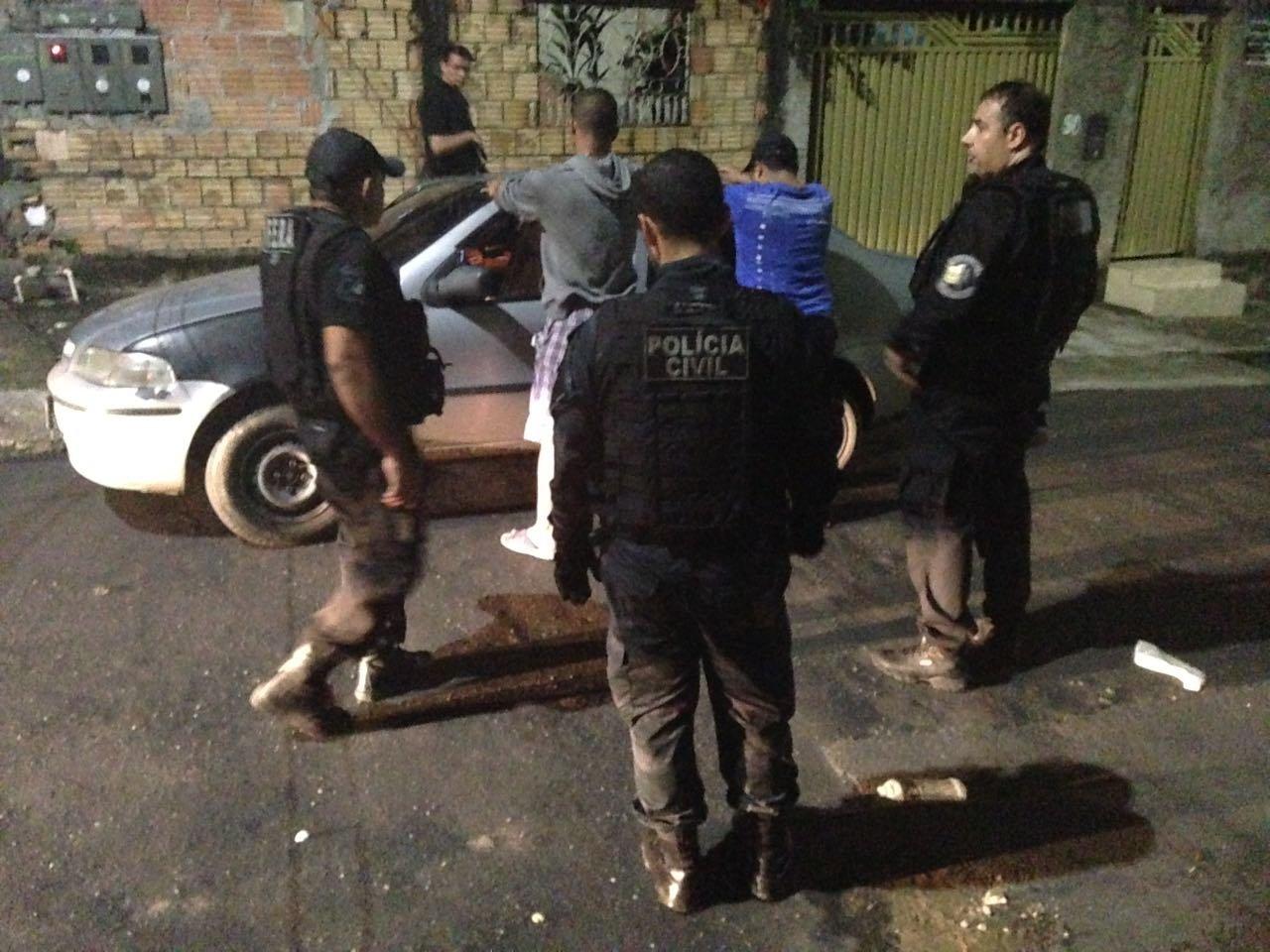 """Três pessoas são presas durante 1º dia da operação """"CAPITAL SEGURA 3"""""""