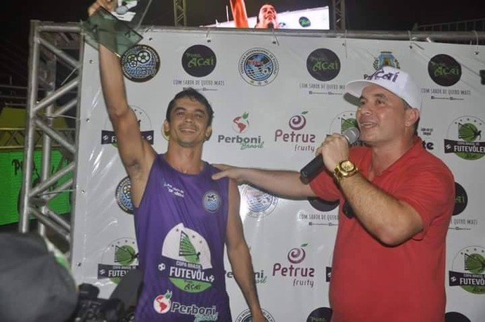Amazonense prepara-se para mundial de futevôlei na França