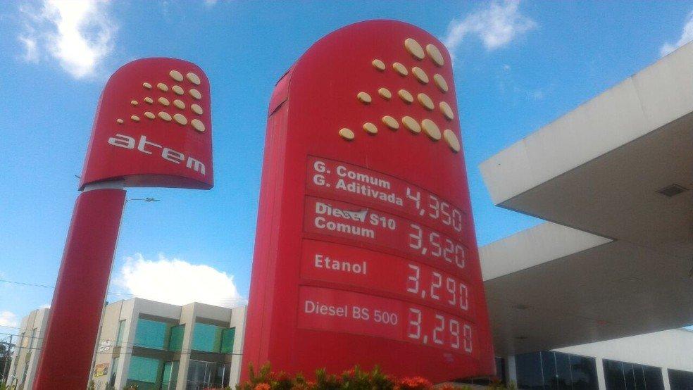 Após aumento de impostos e reajuste, preço da gasolina chega a R$ 4,35 em Manaus