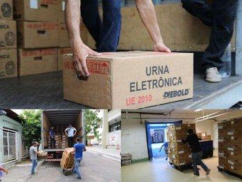 TRE-AM conclui entregas de urnas eletrônicas no interior do AM