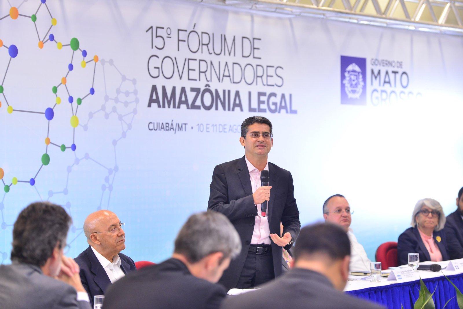 Em Cuiabá, Governador David Almeida defende união entre os Estados para consolidação da Amazônia