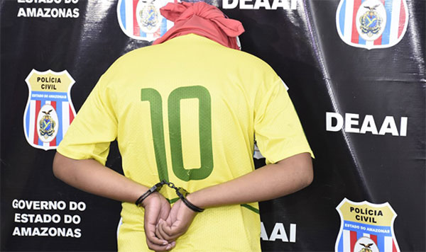 Deaai apreende adolescente por tentativa de homicídio e ameaça de morte