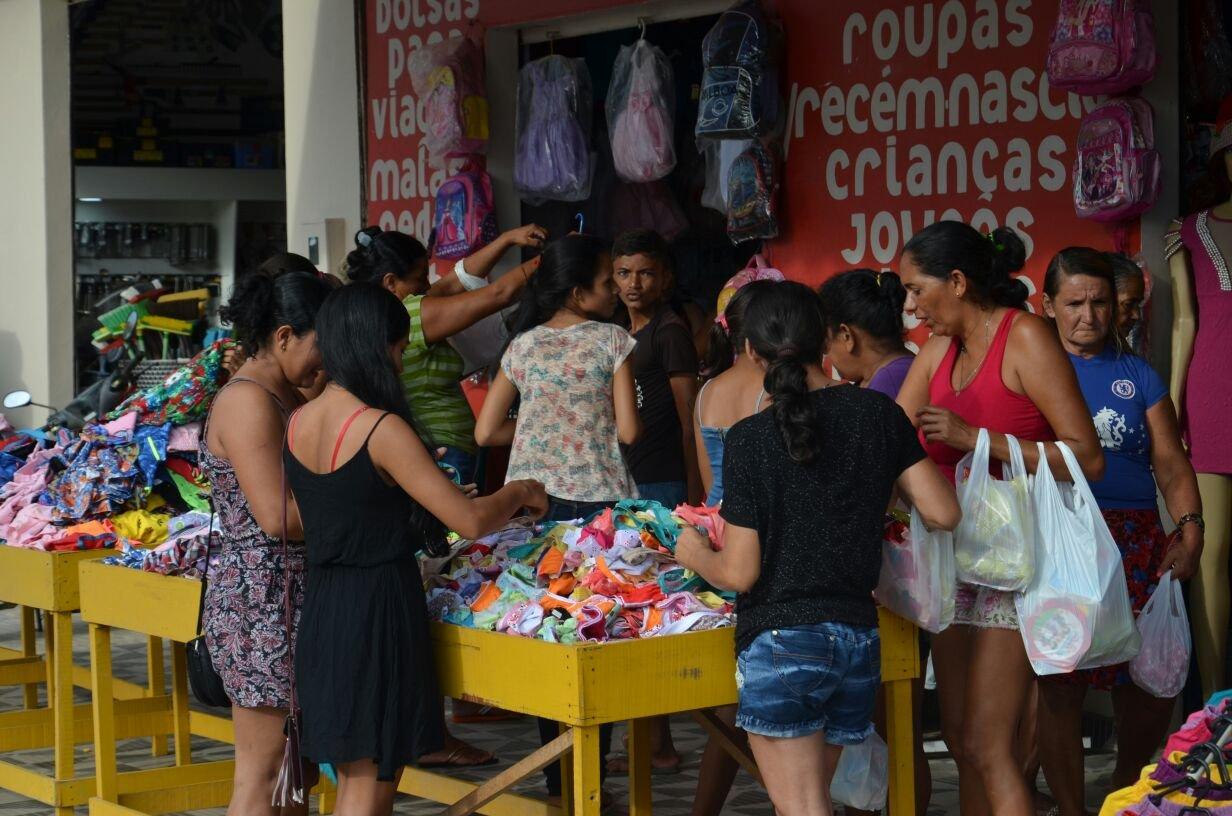 Injeção de 4 milhões aquece economia no comercio em Eirunepé.