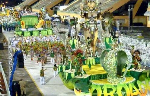 Mocidade Independente do Coroado faz homenagem a Rio Preto da Eva