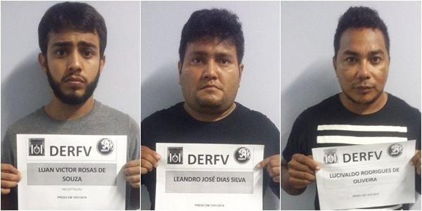 Polícia recupera em Manacapuru dois veículos roubados em Manaus e prende dupla por receptação