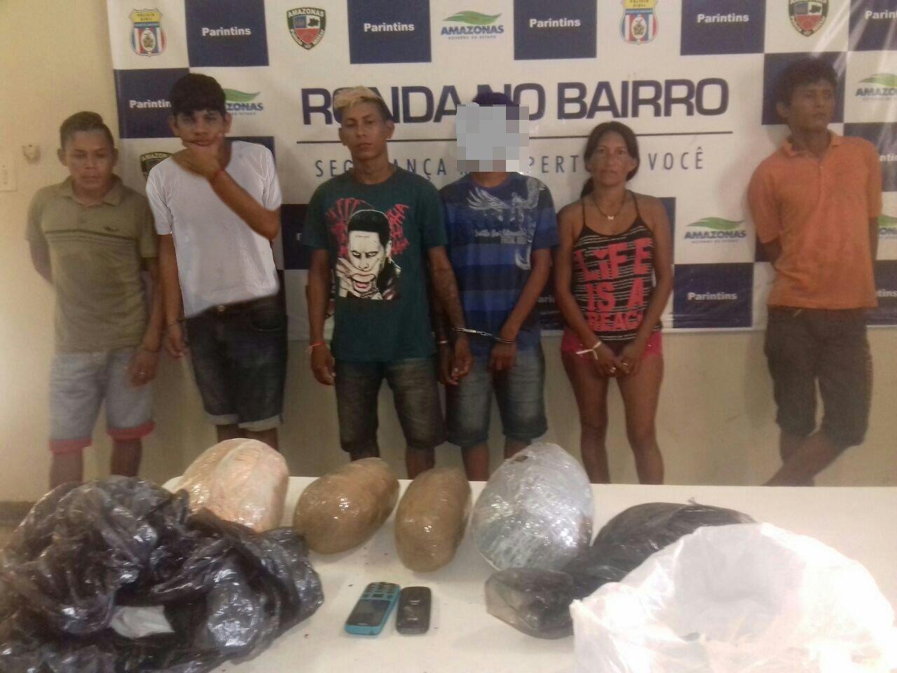 Polícia Civil prende bando e apreende adolescente com 5 kg de maconha do tipo skunk em Parintins no