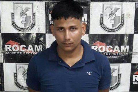 Jovem é 18 quilos de drogas escondida em casa no Monte Sinai em Manaus