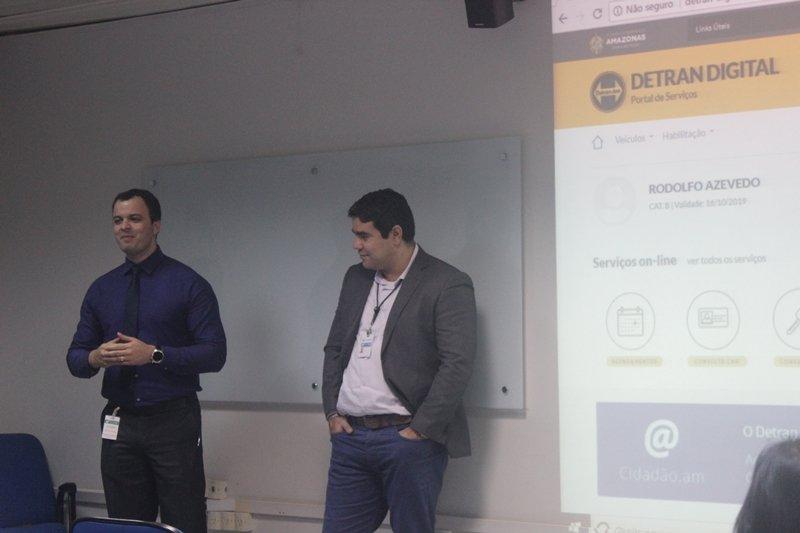 Prodam apresenta novo portal de serviços Detran-AM