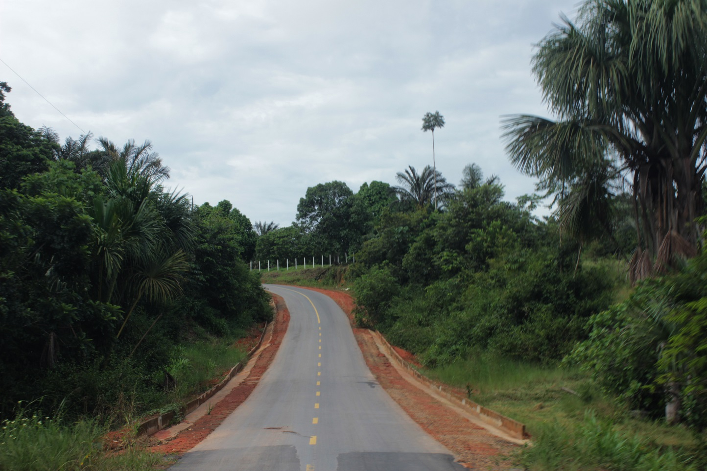 Obras de recuperação avançam na estrada de Novo Airão