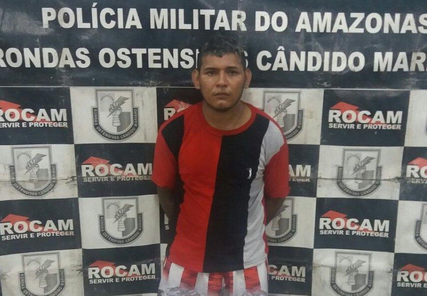Rocam prende homem por porte ilegal de arma de fogo na zona leste de Manaus