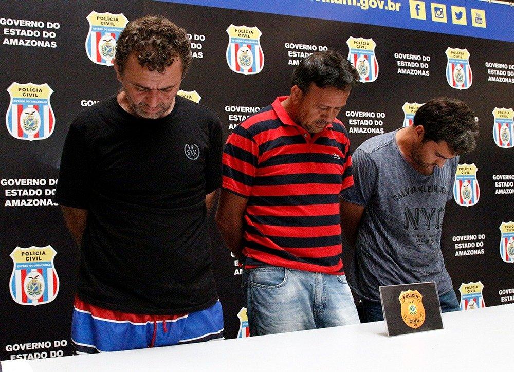 Assaltantes de banco no Ceará são presos no município de Apuí