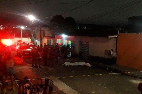 Grafiteiro é morto com vários tiros, no Mutirão