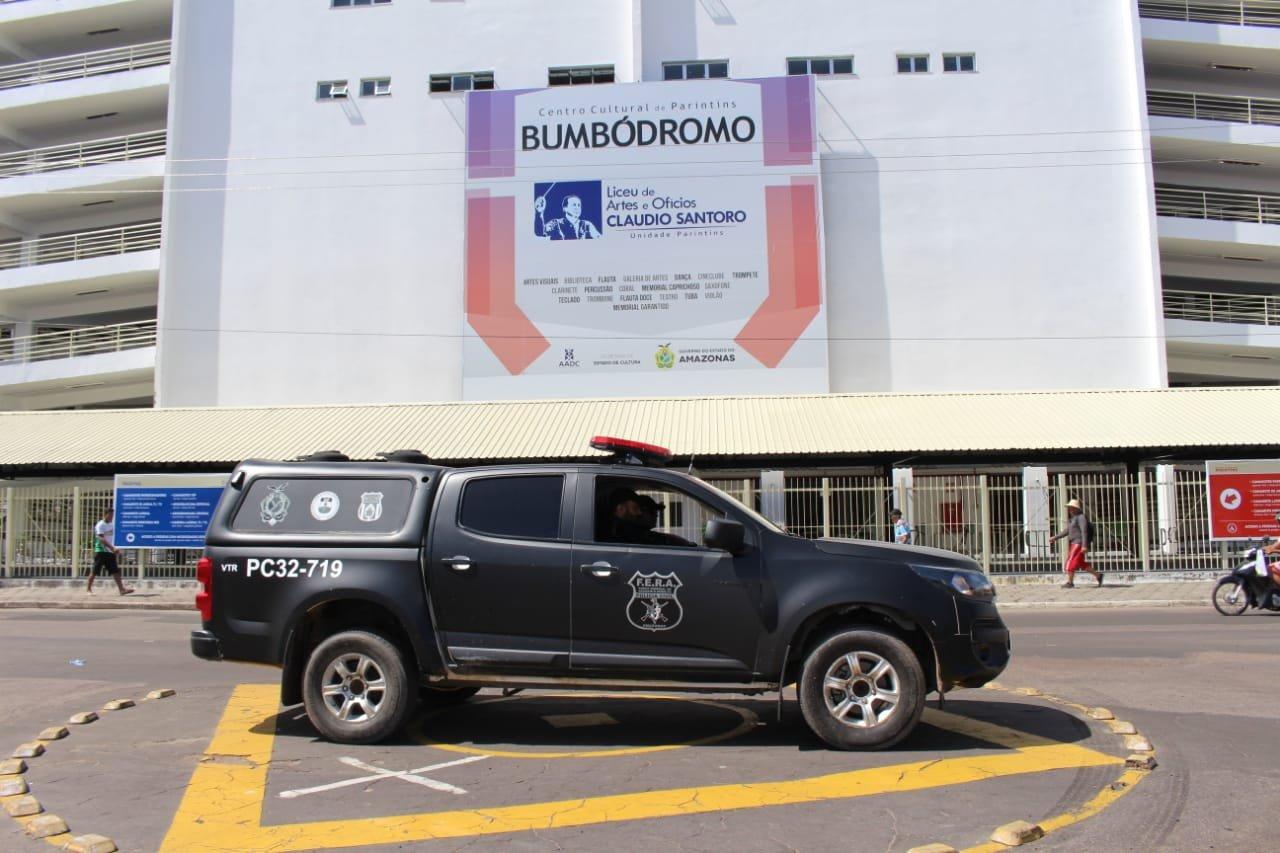 Polícia Civil reforça os trabalhos de segurança nas ruas de Parintins para o 53° Festival Folclórico do município