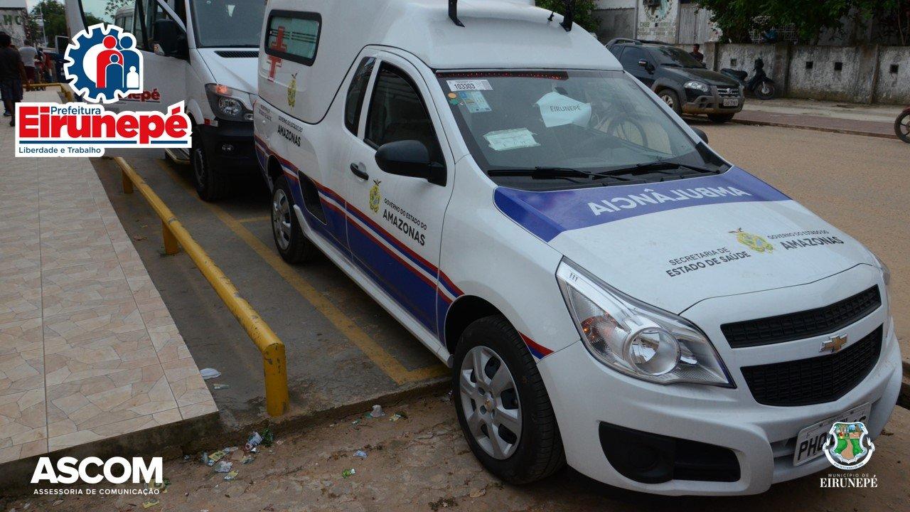 Hospital Vinicius Conrado, recebe nova ambulância para tender população de Eirunepé