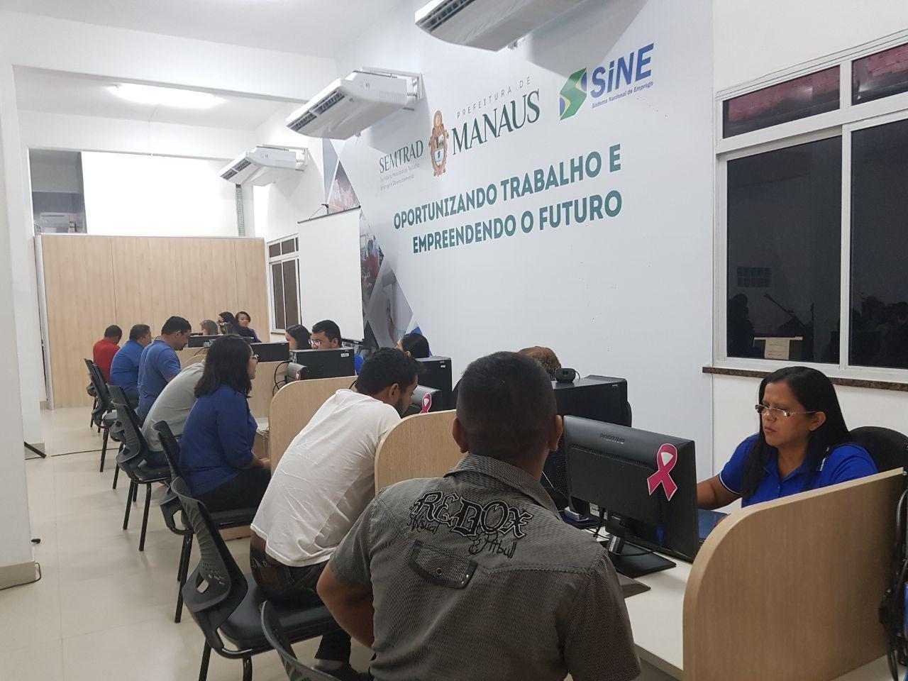 Sine Manaus oferece mais de 100 vagas de emprego, nesta quarta-feira