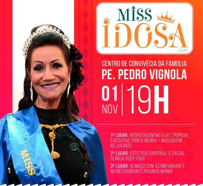 Concurso de Miss Idosa 2018 fecha atividades do Outubro Rosa no Centro de Convivência da Cidade Nova