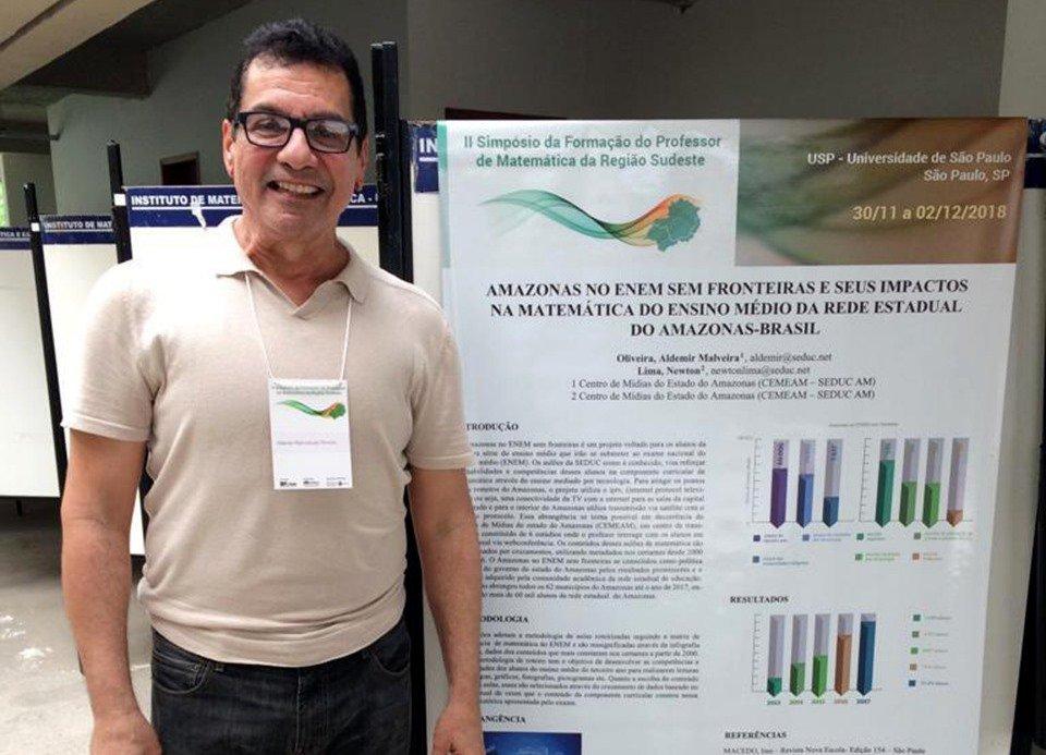 Projeto da Secretaria de Educação do Amazonas é destaque em simpósio realizado em São Paulo